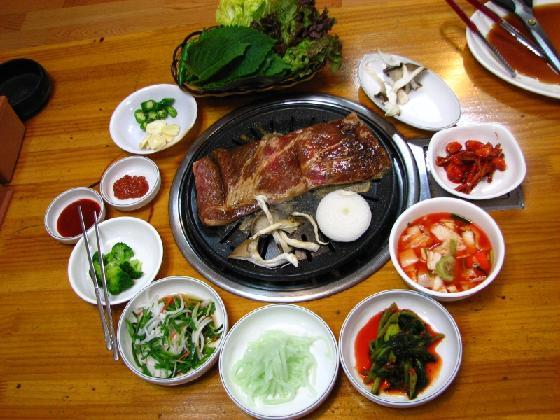 galbi korea korean food