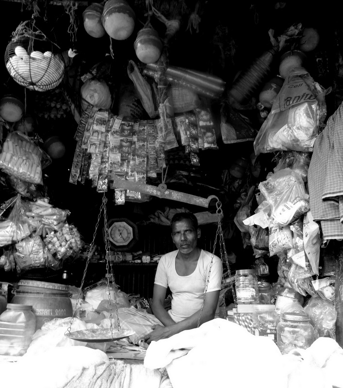 street shop calcutta india