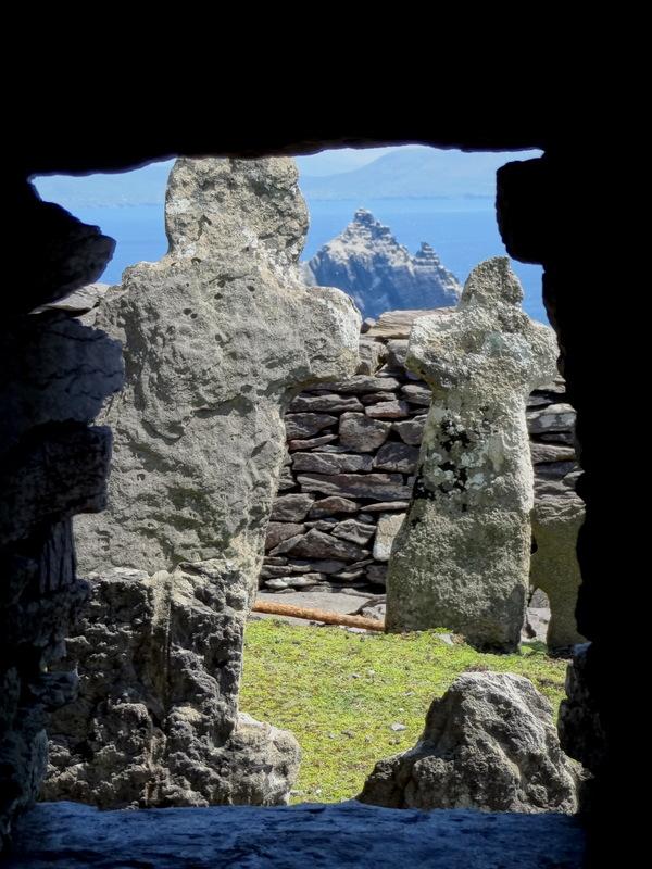 monastery grave stone crosses