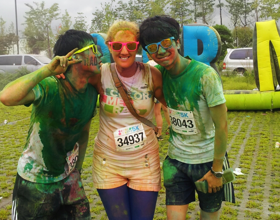 color me rad love korea