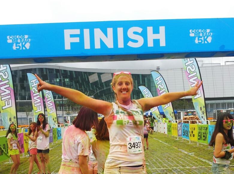 race finish line