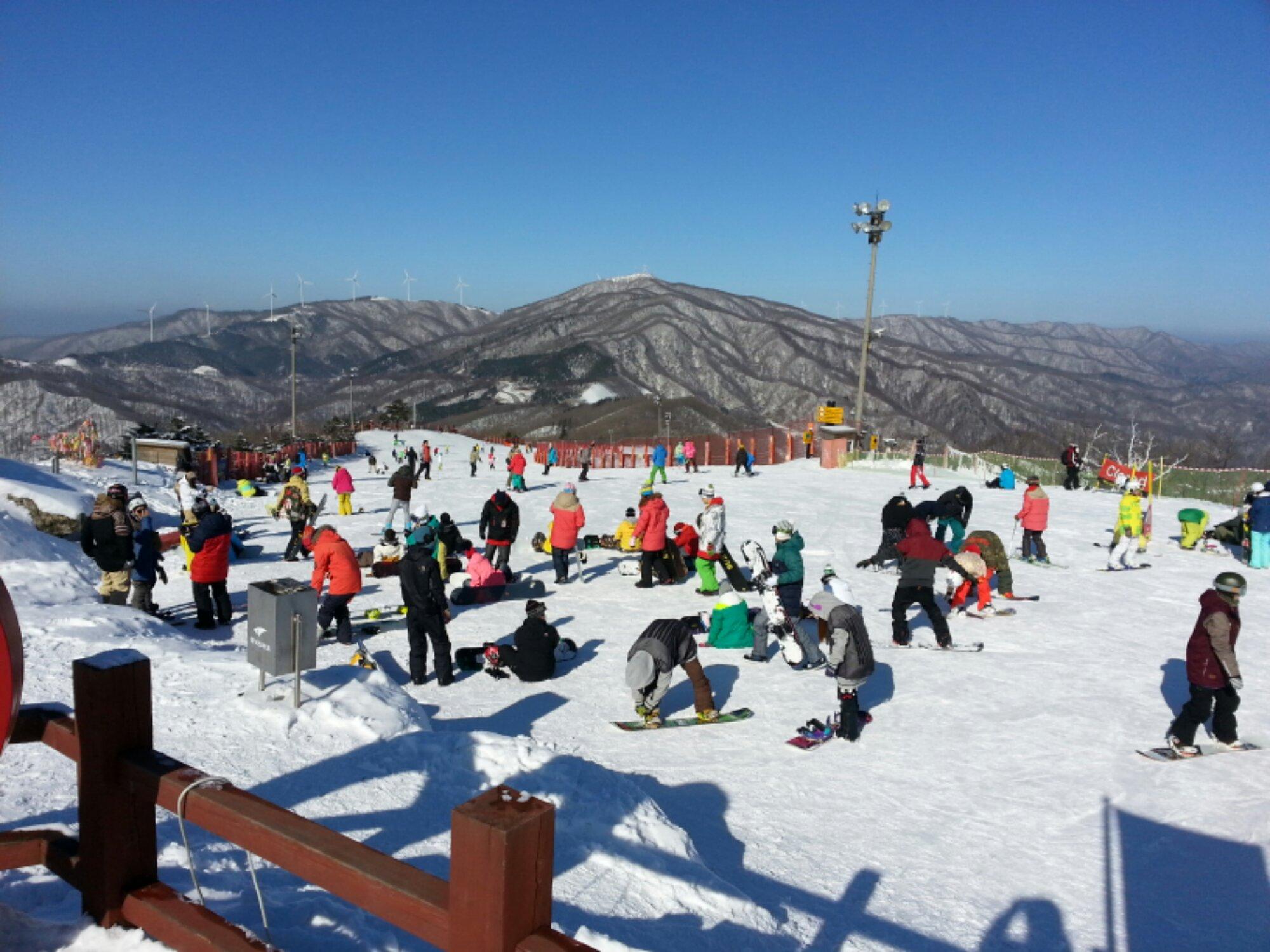 yongpyong resort - a winter wonderland - journo on the run
