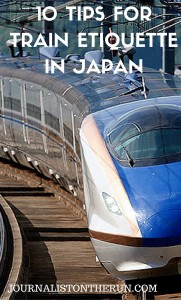 10 tips from train etiquette in Japan