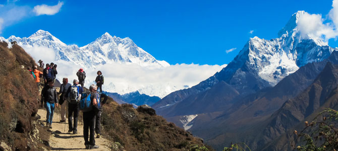 2-View-during-Everest-Base-Camp-Trek