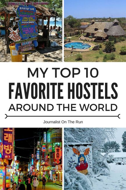 Top 10 Hostels