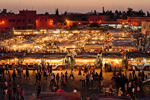 marrakech-market-square