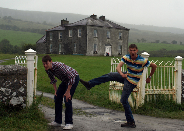father-ted-house