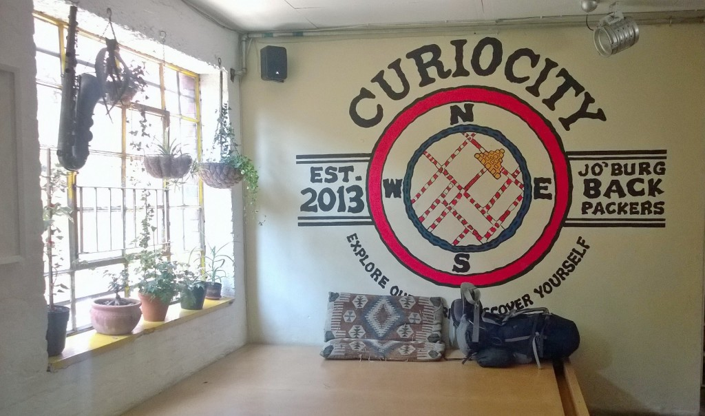 Hostel Review: Curiocity Backpackers, Johannesburg