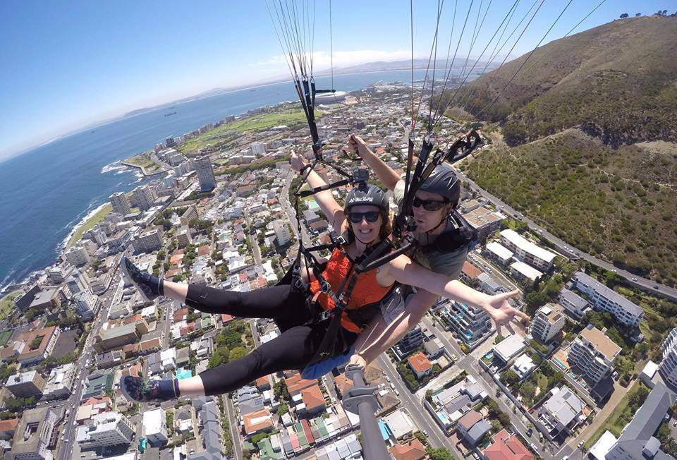 Paragliding in Cape Town