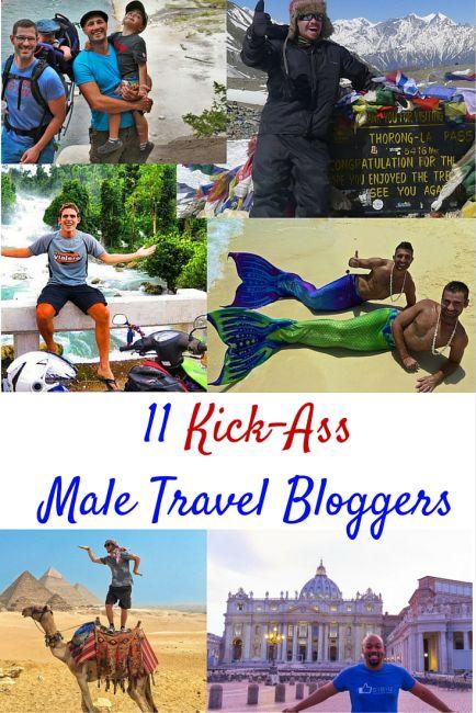 11 Kick-Ass Male Travel Bloggers