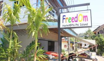 freedom hostel phi phi