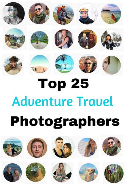 Top 25 Adventure Travel Photographers