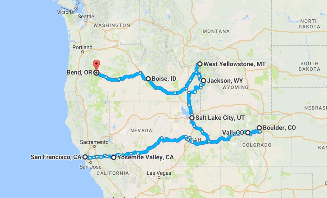 Travelled so far