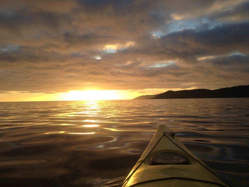 Night kayaking in cork. Photo: Atlantic Sea Kayaking Facebook