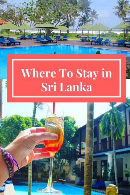 Where To Stay in Sri Lanka