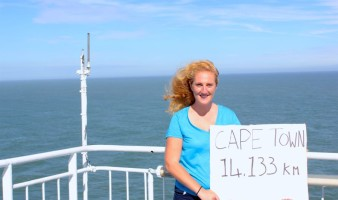 Taking the ferry from Ireland to France - just 14,000KM to go!