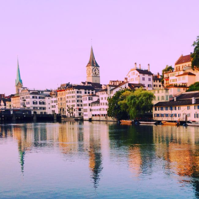 sunrise-in-zurich