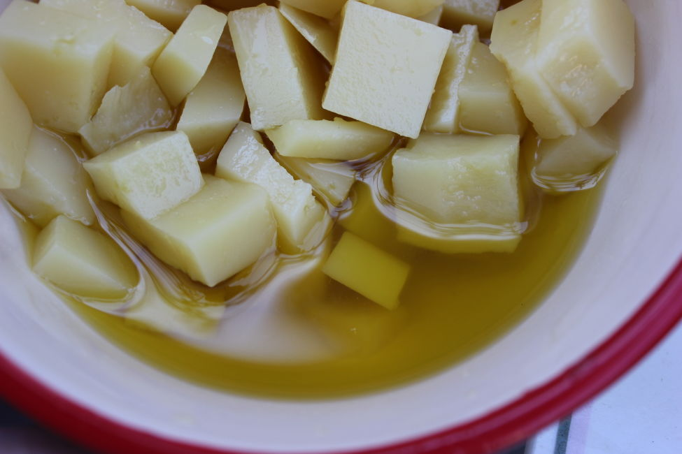 things to do in bosnia - eat cheese and oil