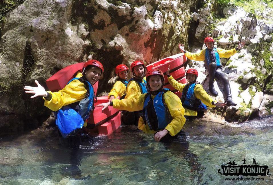 canyoning-bosnia