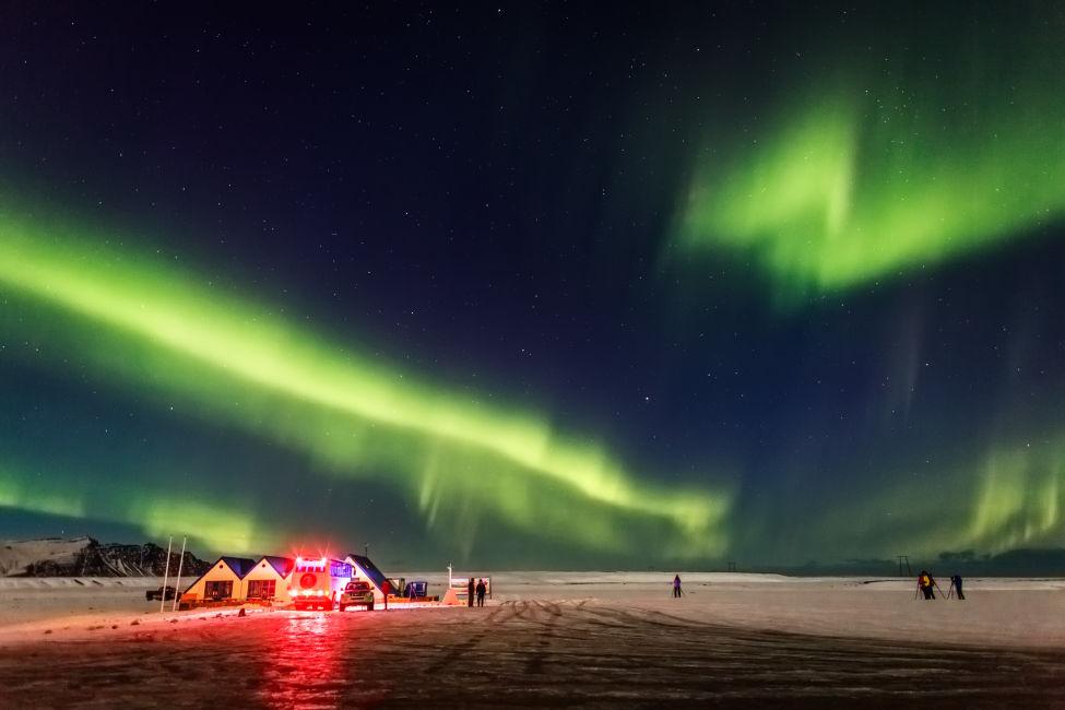 Northern lights- Aurora Borealis