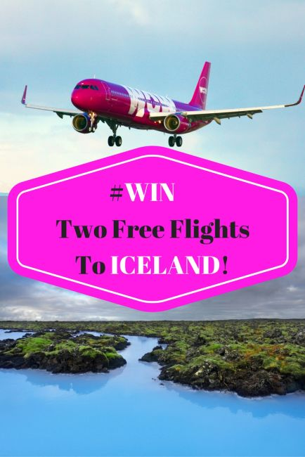 Win Two Free Flights To Iceland