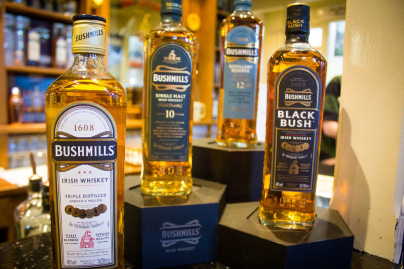 things to to in northern Ireland / whiskey tasting