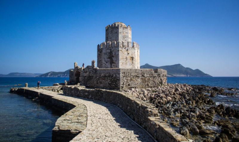 castle Kalamata Greece