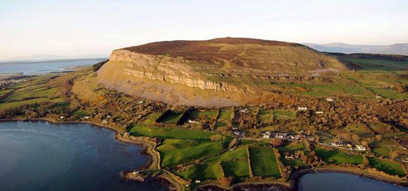 Sligo Ben Bulben - beautiful places in Ireland