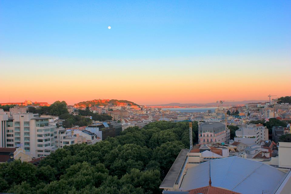 Lisbon sunset