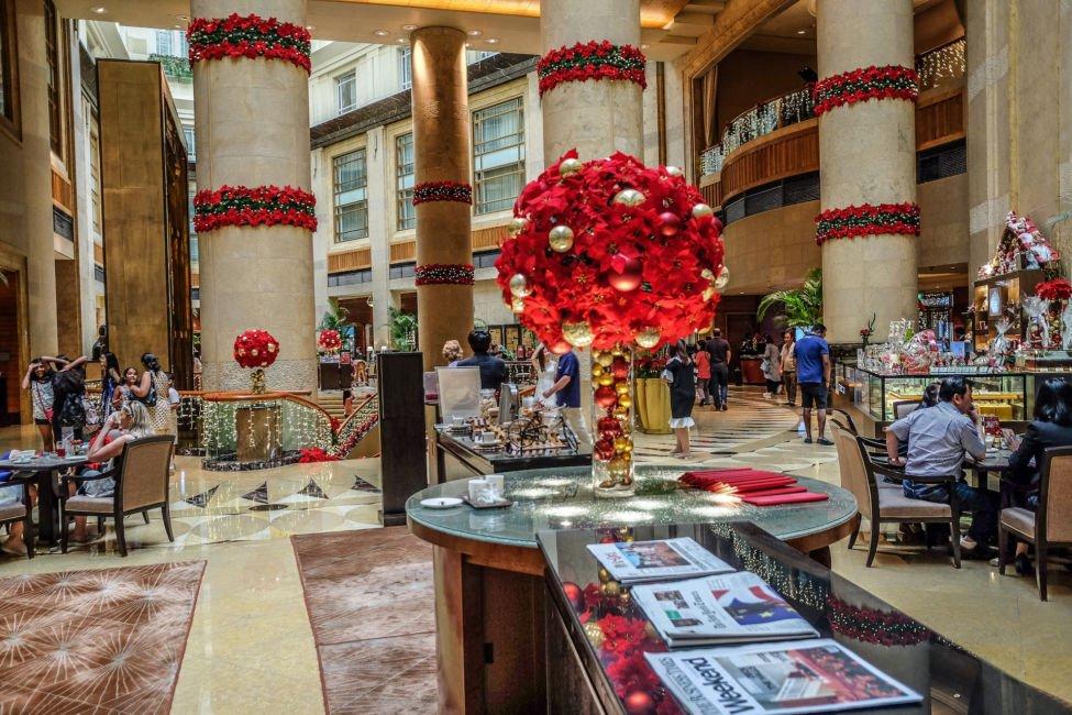 Christmas at Fullerton Hotel