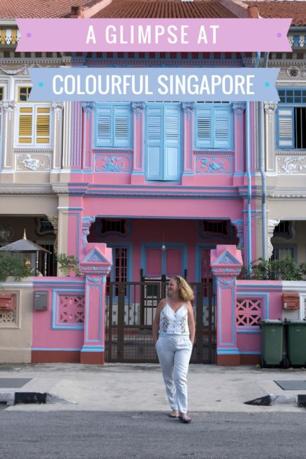 Most colourful buildings in Singapore