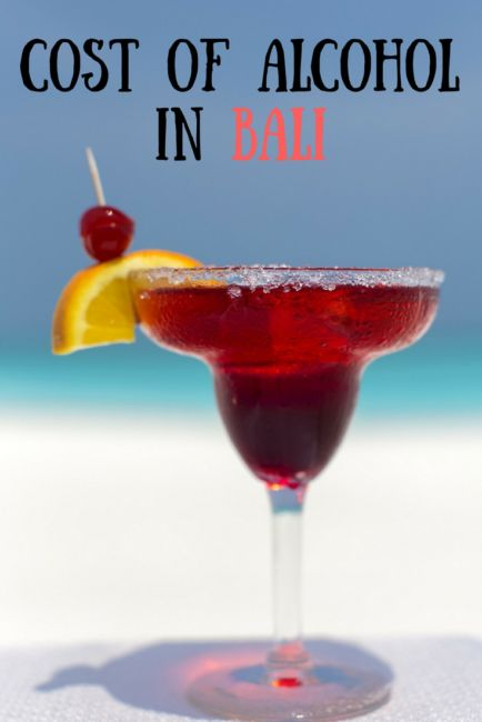 how expensive is wine in bali