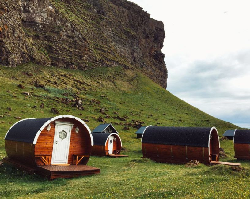 glamping in iceland