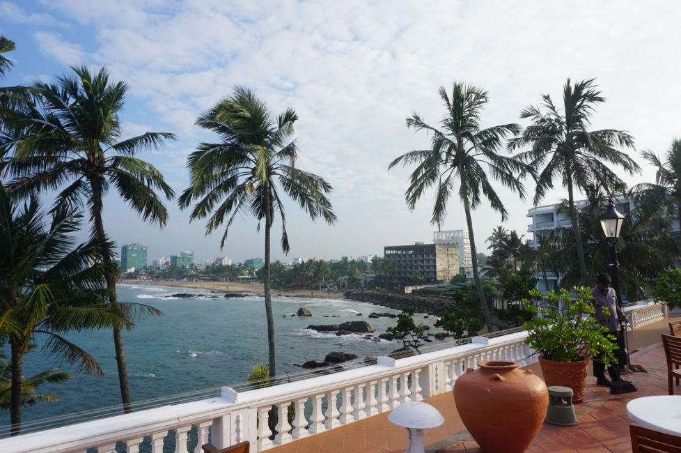 view from mount lavinia