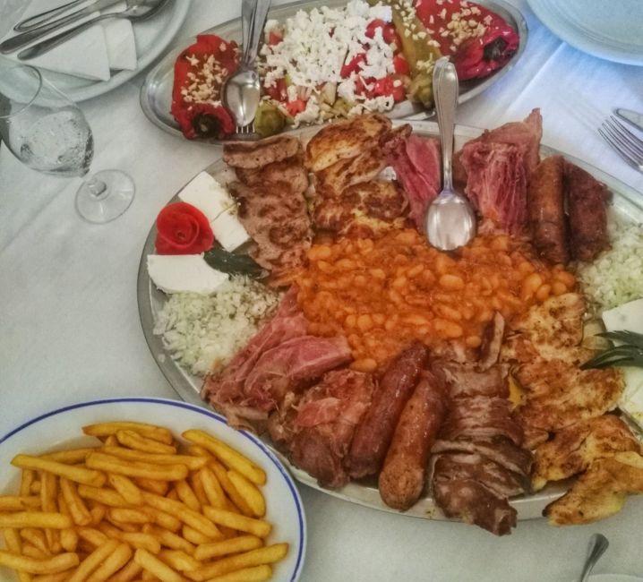 visiting serbia food