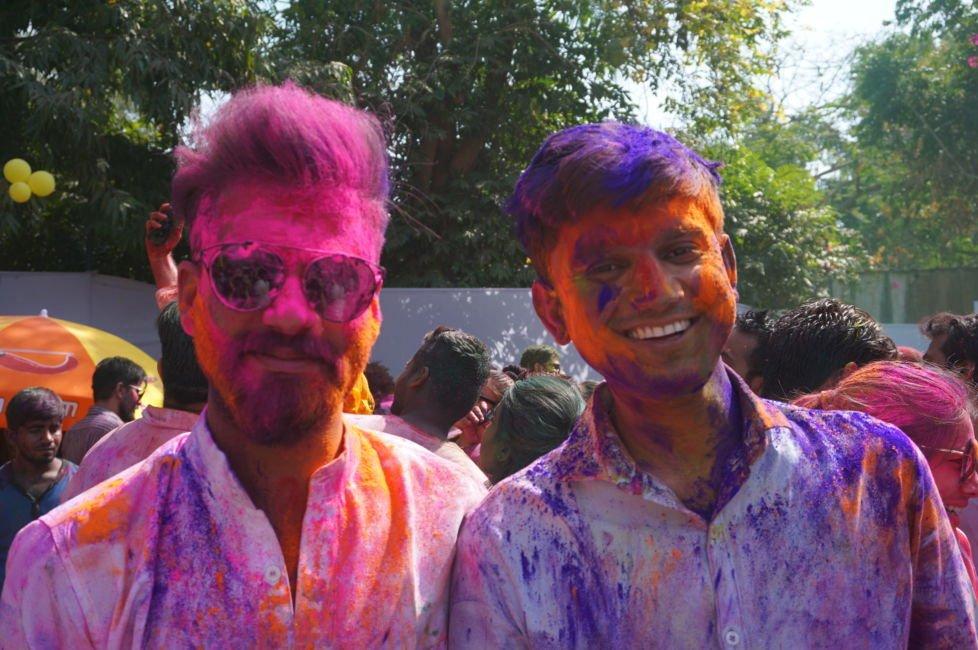 holi party india