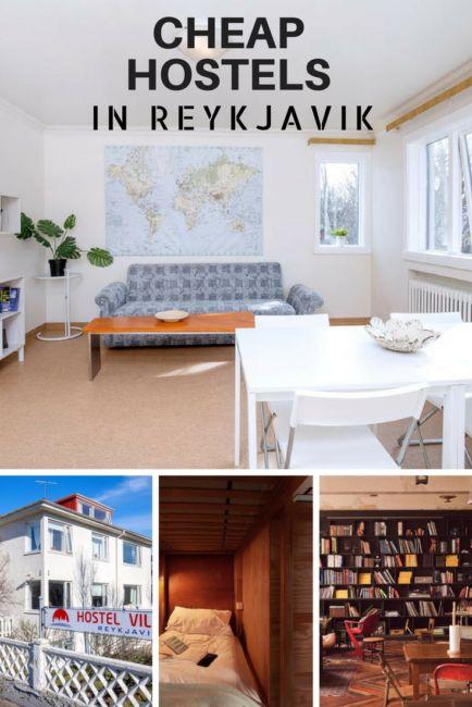 Cheap Hostels in Reykjavik, Iceland