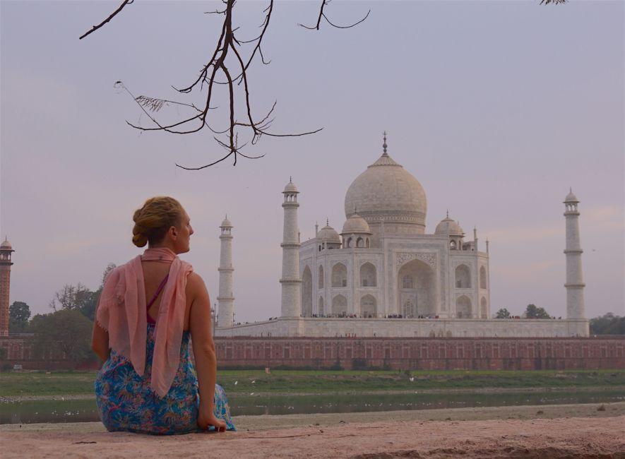 golden triangle itinerary Taj Mahal
