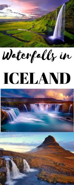 Stunning Waterfalls in Iceland