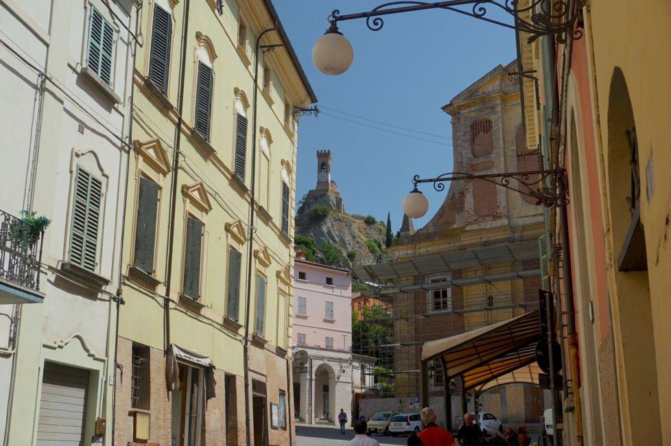 town square brisighella
