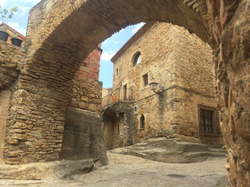 Peratallada medieval village