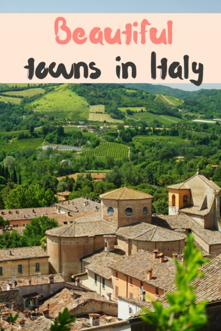 Beautiful towns in Italy