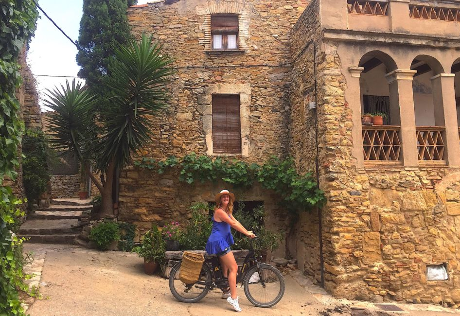 Peratallada Spain: Cycling Through Medieval Villages Near Girona