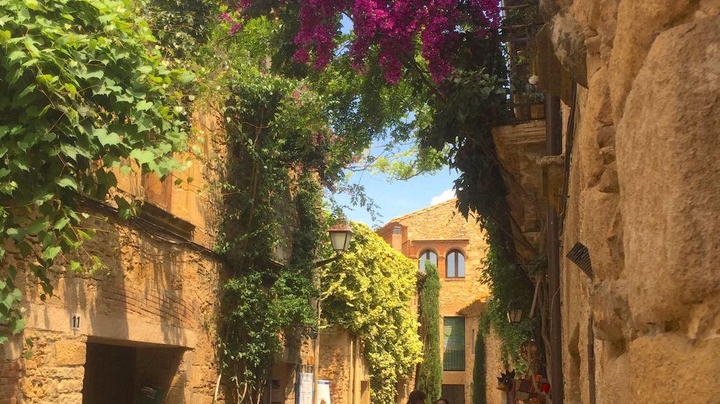 Peratallada Spain: Cycling Through Medieval Villages Near Girona