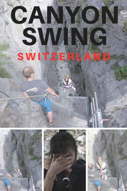 Adventure in Switzerland