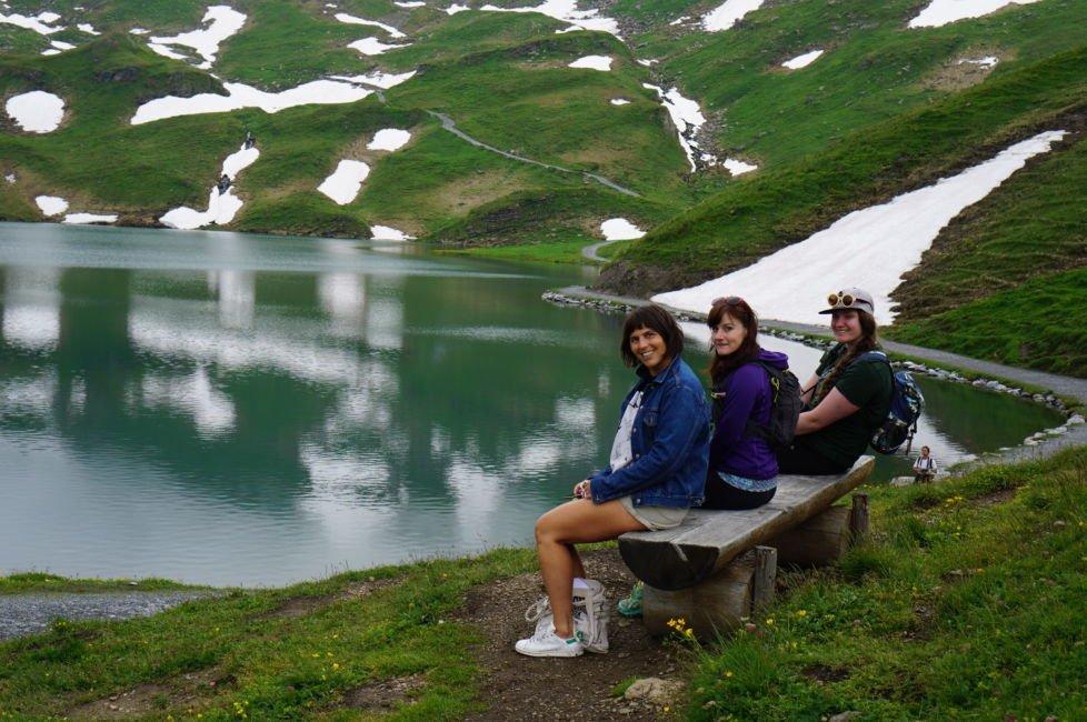 lake bachalpsee bench