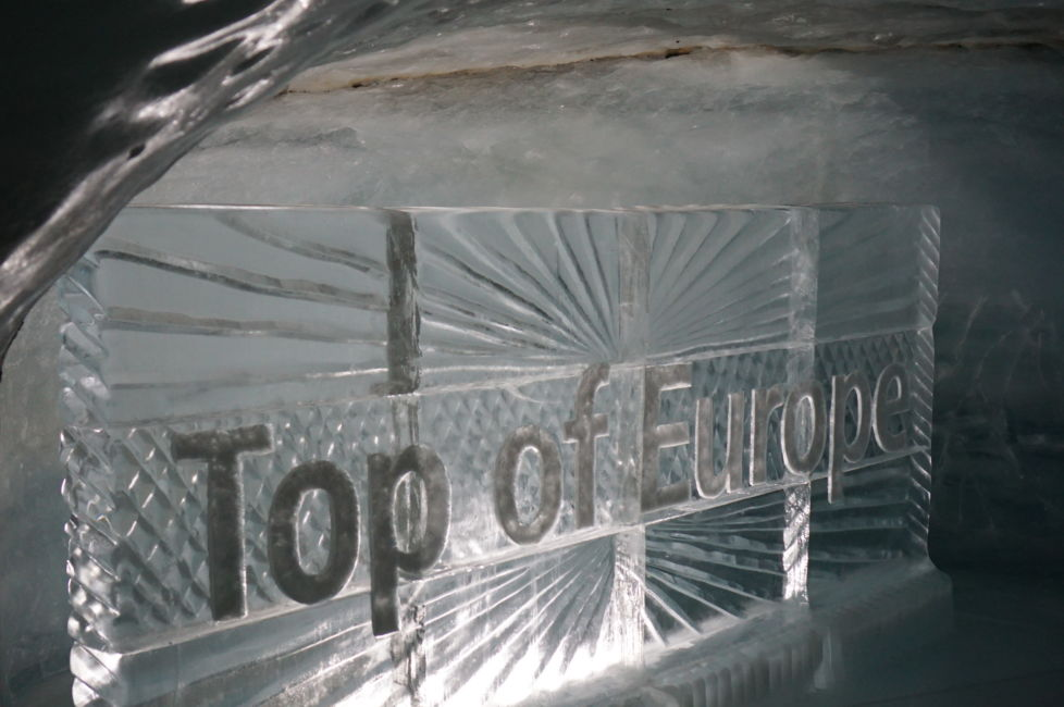 ice palace top of europe