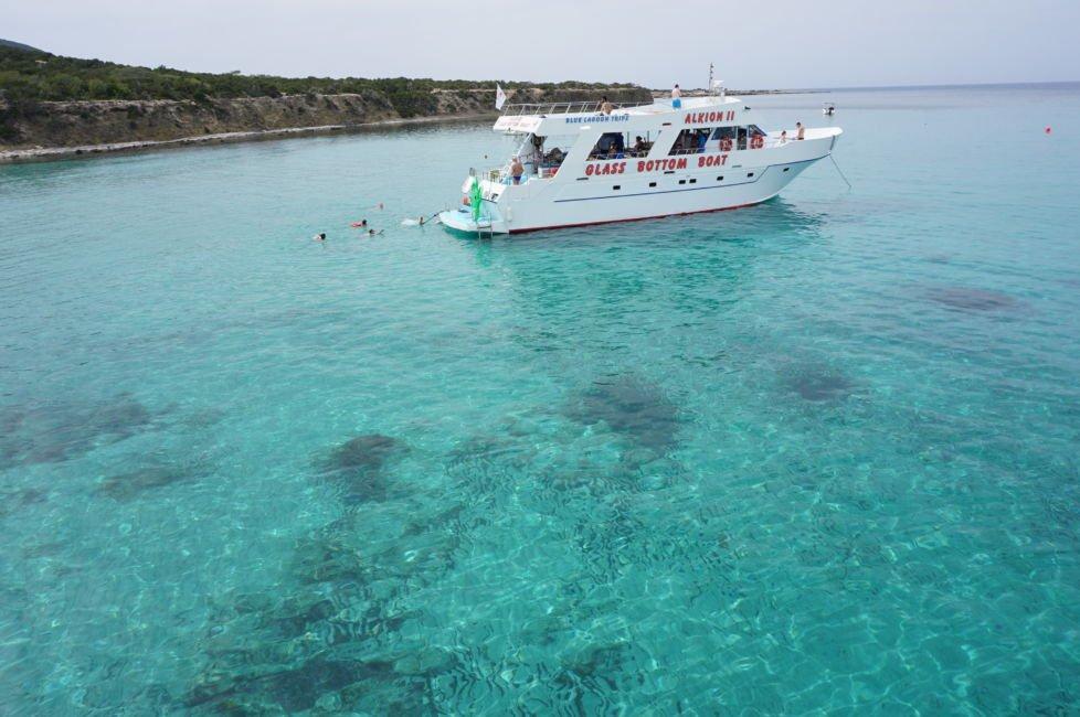 blue lagoon trip paphos