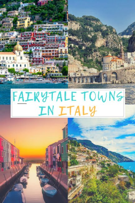 Colourful Towns in Italy
