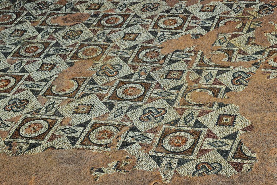 famous mosaics floor paphos